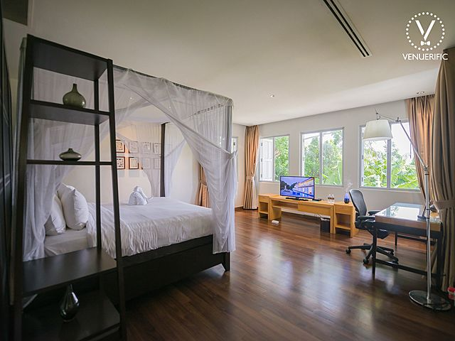 room with windows for natural light