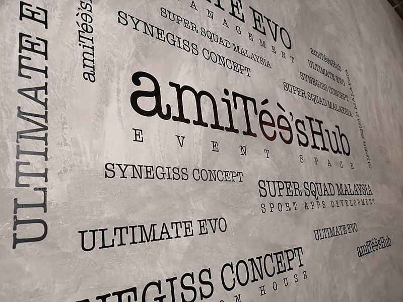 wallpaper of amitees hub event space