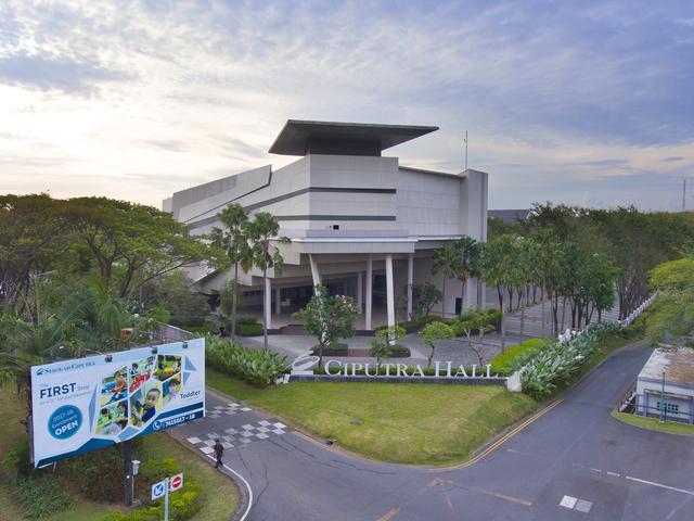 ciputra hall performing arts centre workshop event venue surabaya