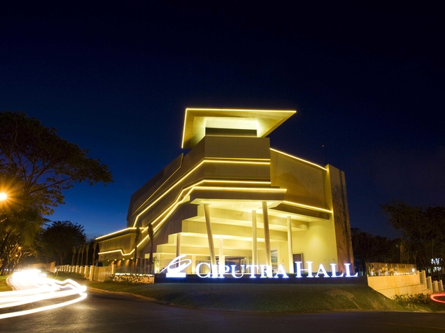 ciputra hall performing arts centre unique venue surabaya