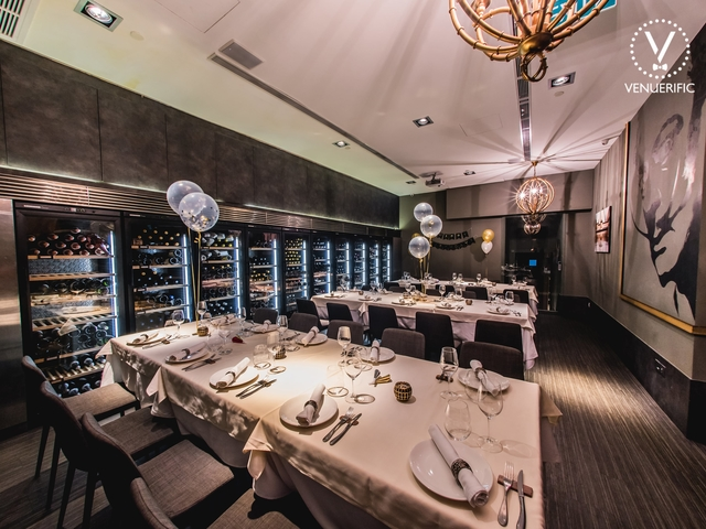 spanish fine dining restaurant and bar's executive room