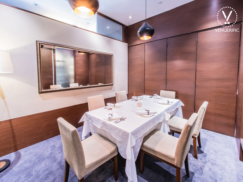 private dining room for intimate celebrations
