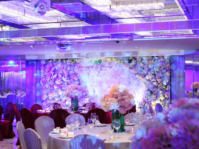 hotel ballroom for wedding reception event