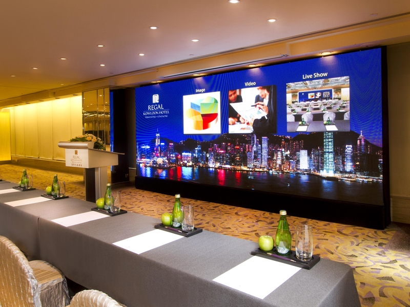 busines conference training event space in regal hotel