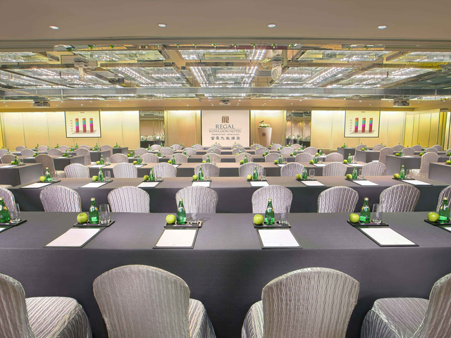 corporate seminar event space in regal kowloon hotel