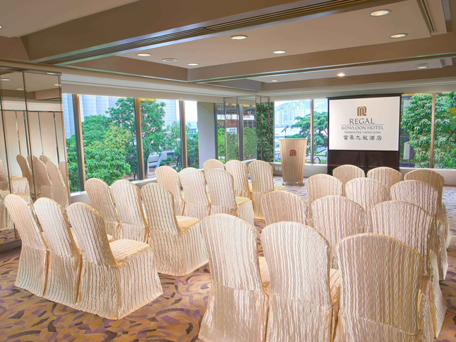 small training seminar space for business events