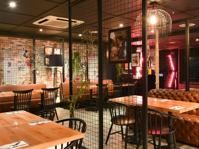 stylish and instagram worthy of restaurant and bar