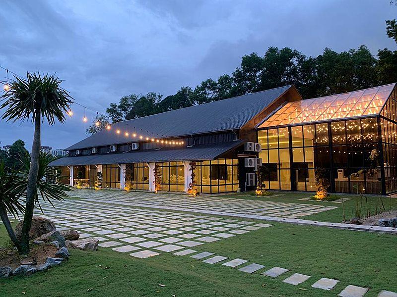 twh glasshall cheras outdoor event venue party selangor