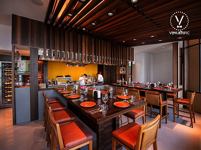 japanese restaurant in singapore with private dining room