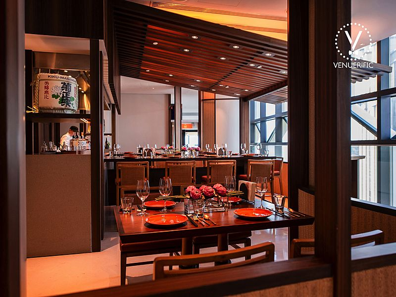 singapore private dining room with authentic japanese cuisine