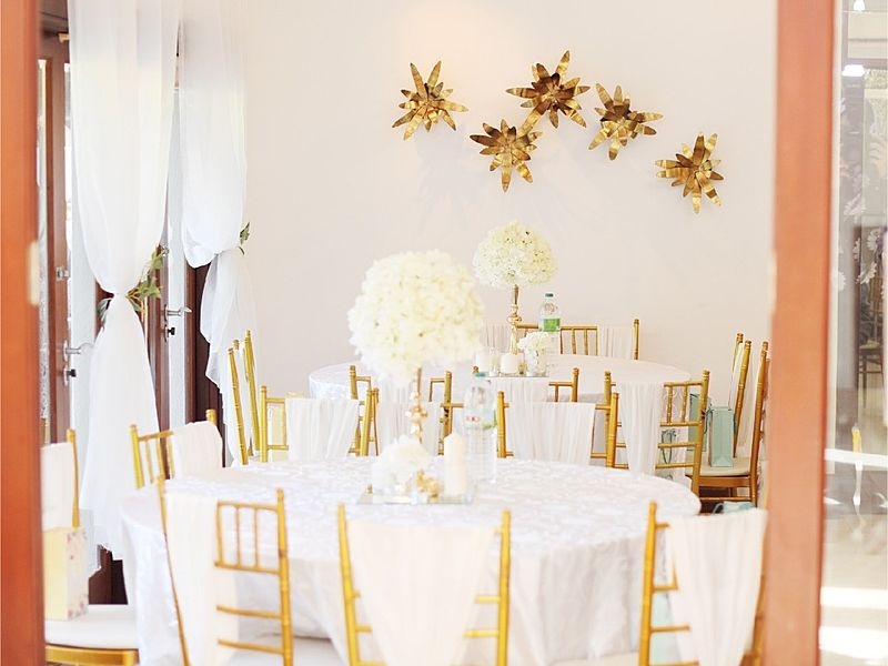 white-themed banquet wedding venue malaysia