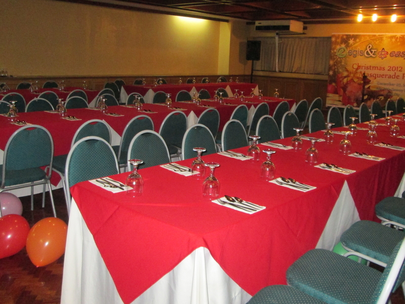 banquet seating in philippines year-end party venue