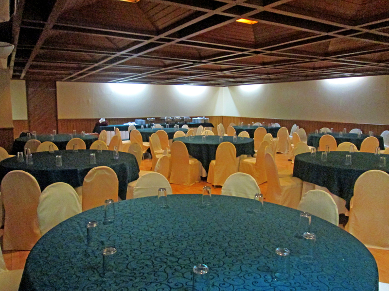 several round dining tables in philippines function hall