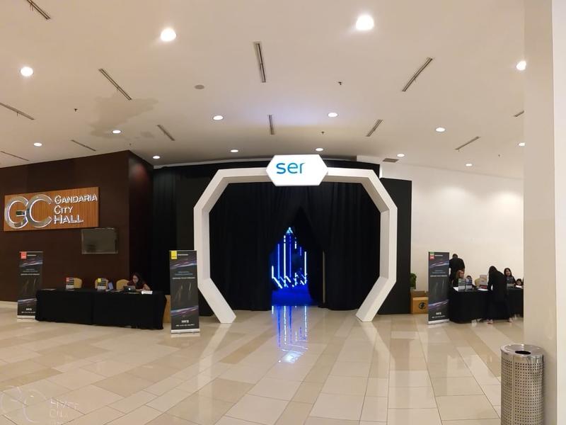 gandaria city hall company anniversary venue jakarta