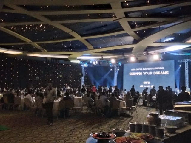 gandaria city hall dinner and dance event venue jakarta