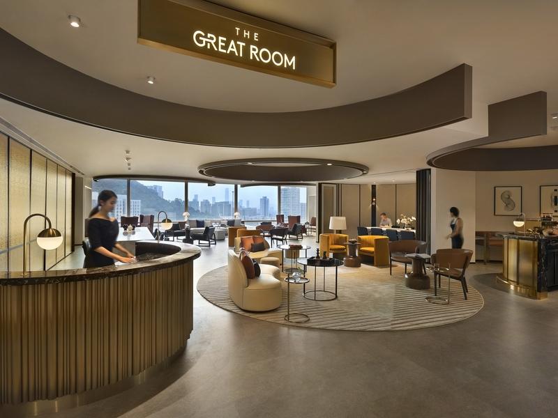 the great room reception area corporate event venue