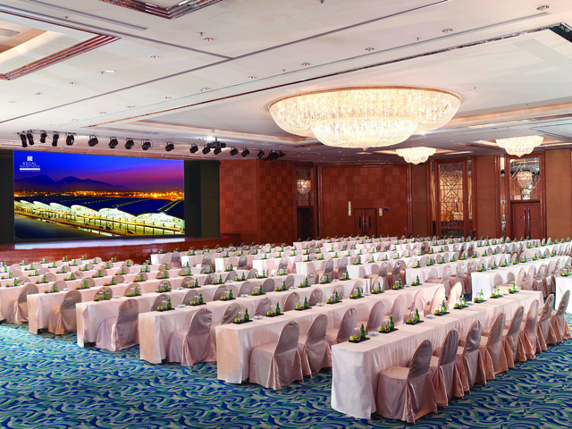 conference hall in regal airport hotel