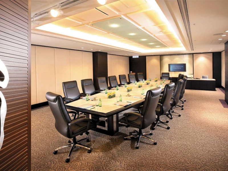 large meeting room with large conference table