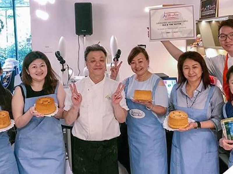 baking class with singapore cheff