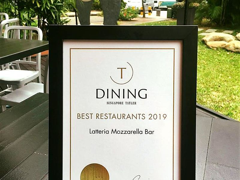 latteria mozarella bar the best restaurant 2019