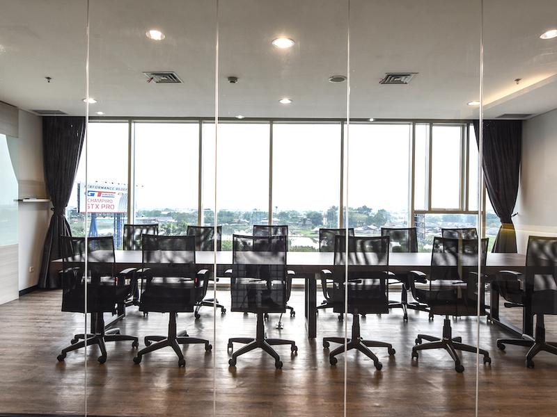 boutique office jakarta airport tempat meeting bandara cengkareng