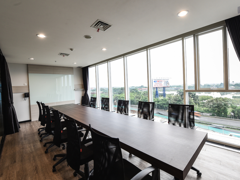boutique office jakarta airport workshop event space