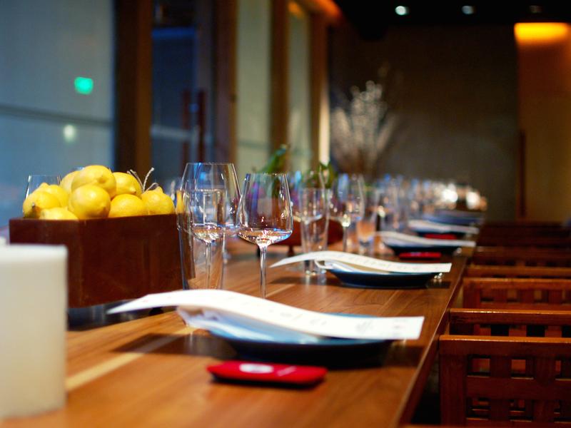 c s steak seafood corporate lunch event jakarta