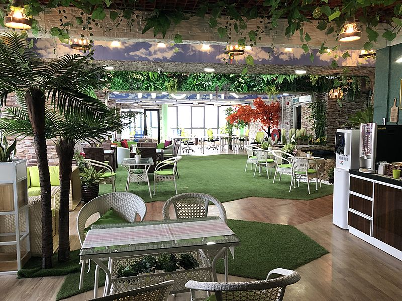 coworking space johor inspired from the lush greenery from the tropical forests and mangrove ecosystem