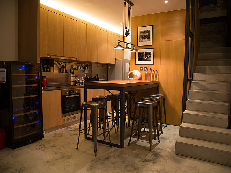 hong kong private party venue with mini kitchen