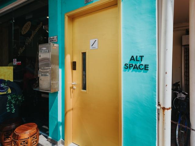 emergency door of alternate space by theparallelspace