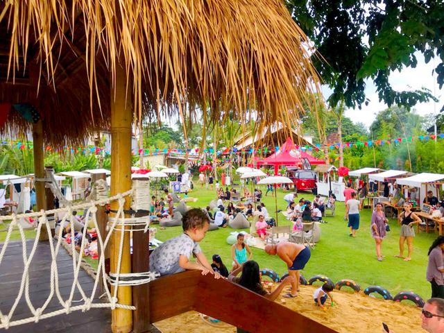 artotel beach club sanur bali christmas pool party venue