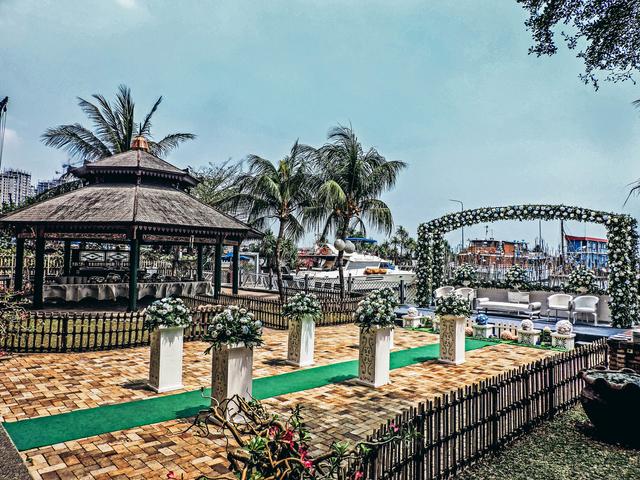 marco polo marina garden batavia marina sunda kepala port best restaurant for intimate wedding jakarta