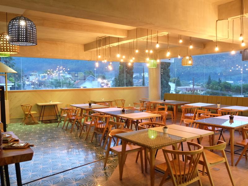 sangkar restaurant alpines batu corporate lunch event space