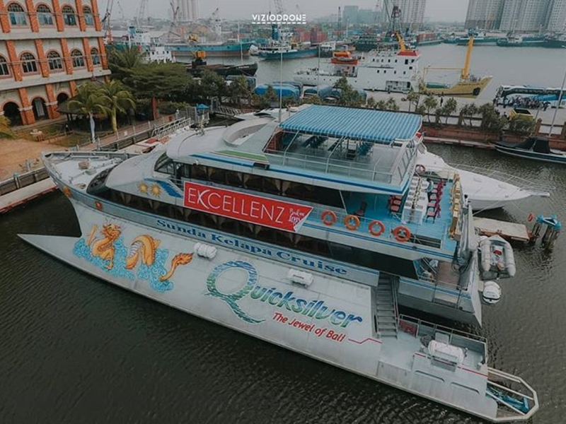 quicksilver cruise jakarta batavia marina sunda kelapa port cool idea for team bonding