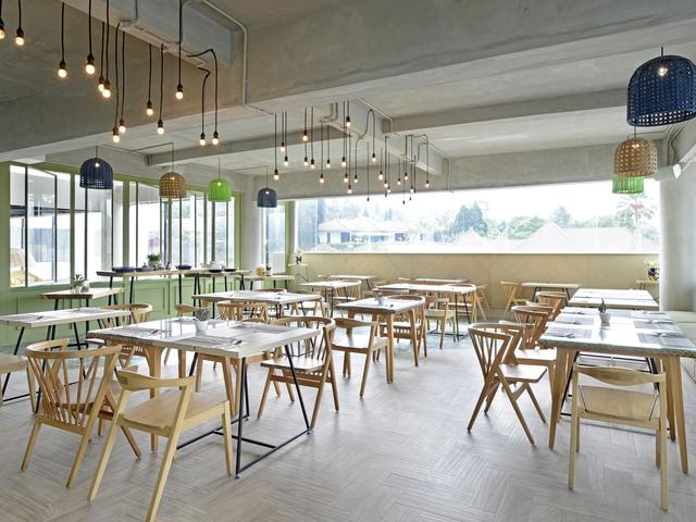 Sangkar restaurant alpines batu sewa ruangan untuk acara medium