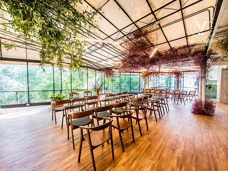 singapore glasshouse for intimate wedding event