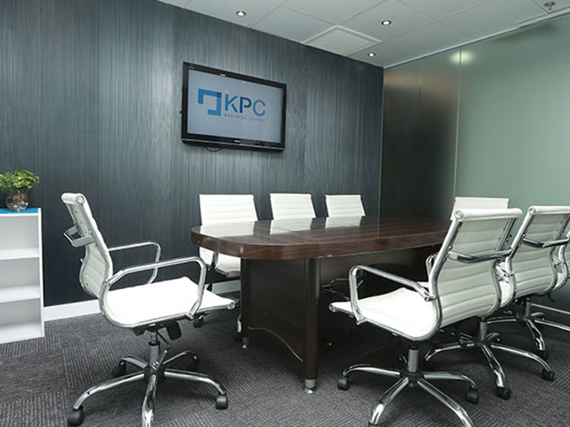 meeting room well equipped with audio visual facilities
