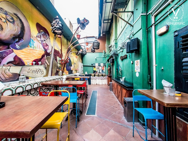 outdoor event space nestled in kampong glam