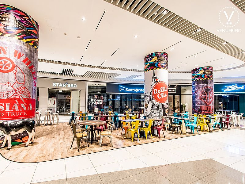 pasrbella indoor area with colourful chair and interior