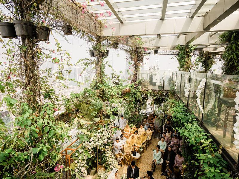 the imperium cool garden style venue jakarta