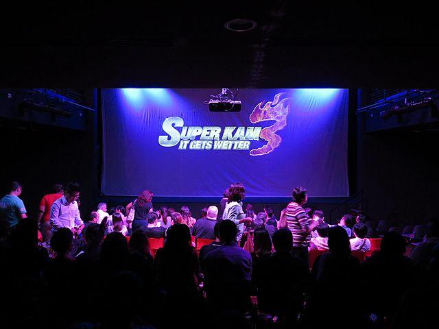 people attending event in selangor theatre room
