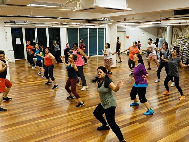 people join dancing class in wooden floors studio selangor