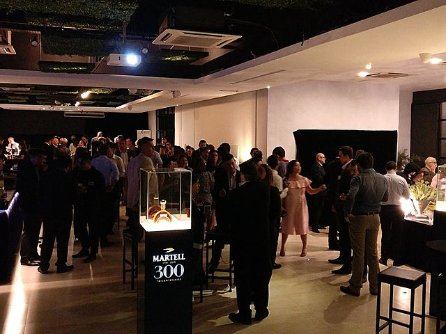 people attending product launch event in kuala lumpur venue