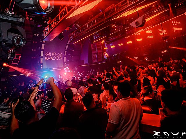 people join year-end party event in a club kuala lumpur
