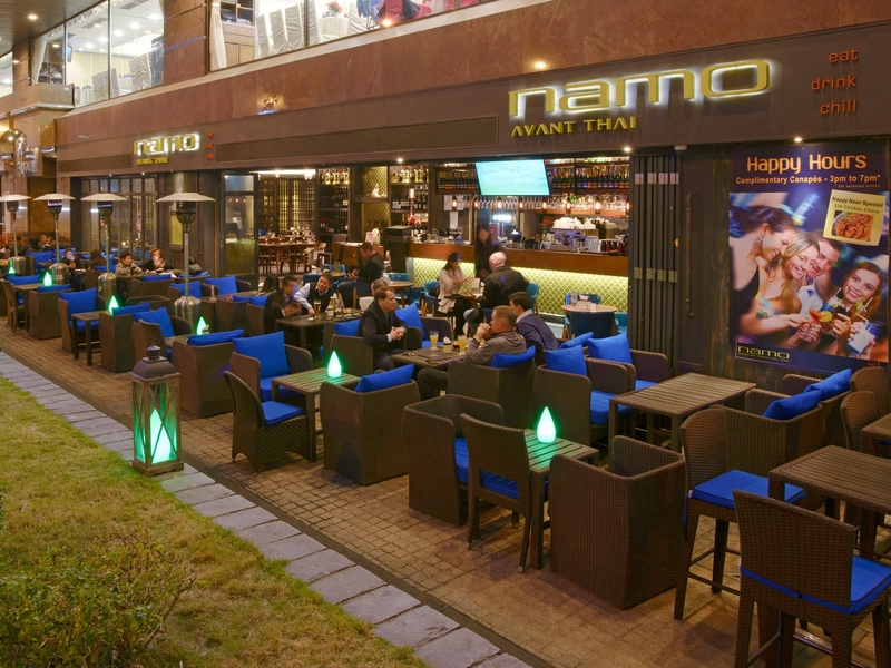 namo hongkong outdoor dining event space