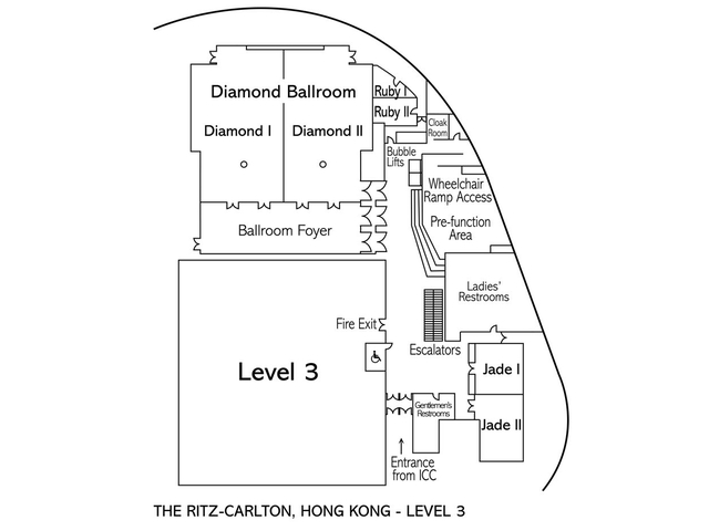 ritz carlton ballroom floor plan