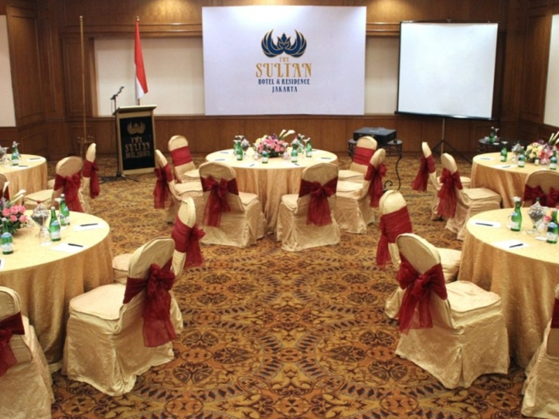 the sultan hotel residence meeting rooms rent room for seminar central jakarta