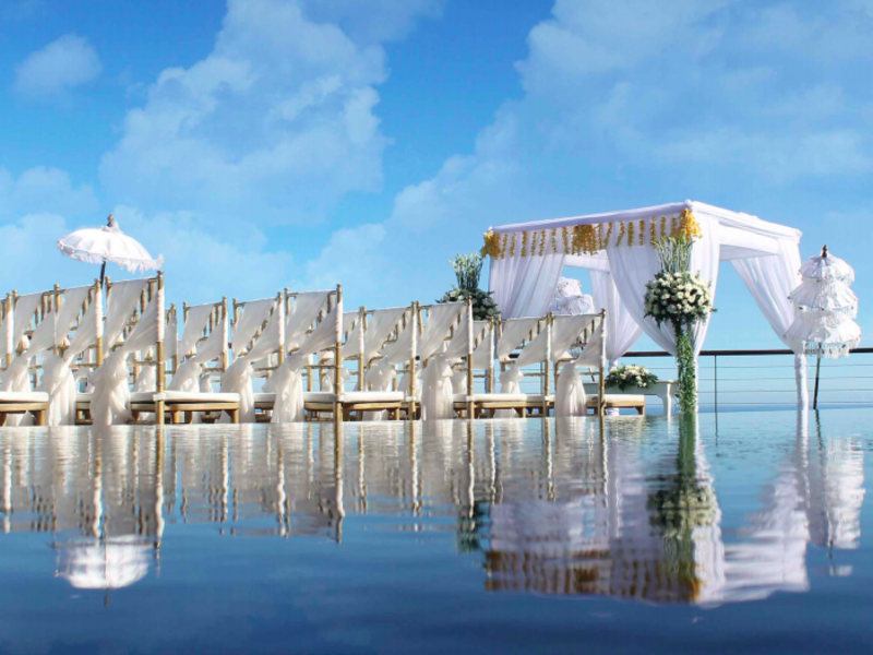 the venue the edge bali perfect place to say i do