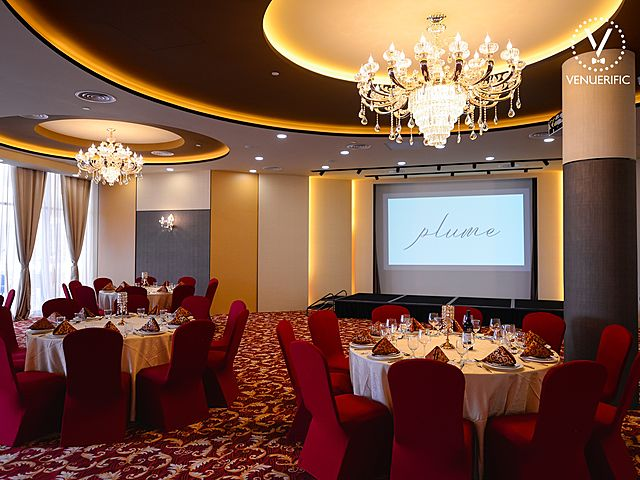 plume ballroom with elegant interior