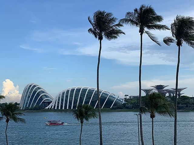 marina bay view from plume singapore